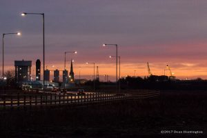 The view of Goole from Oakhill Carpark, By Dean Huntington